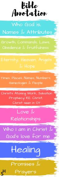 Bible study Bookmark