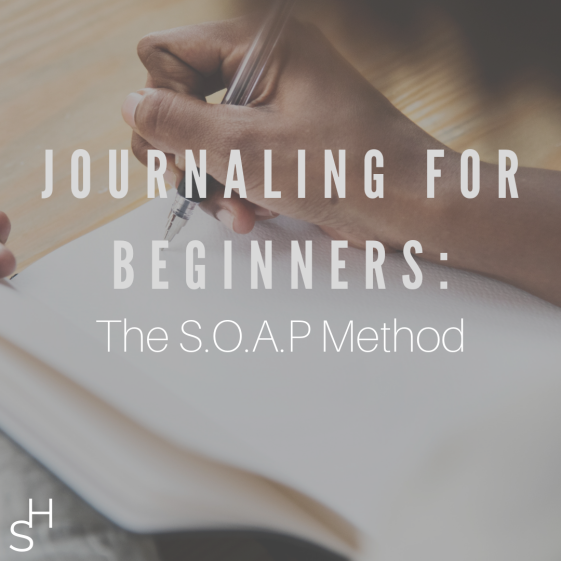 journaling -The S.O.A.P Method 1